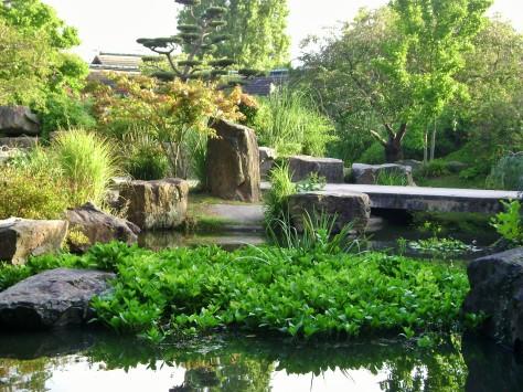 Japanese gardens, Nantes