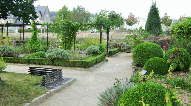 Quimper Old Priory Medieval Gardens Part I: Medicinal & Aromatic Plants