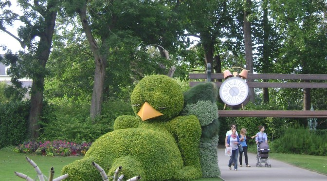 "Nantes ""Jardin des Plantes"" Part 2: Art at the Botanical Gardens"