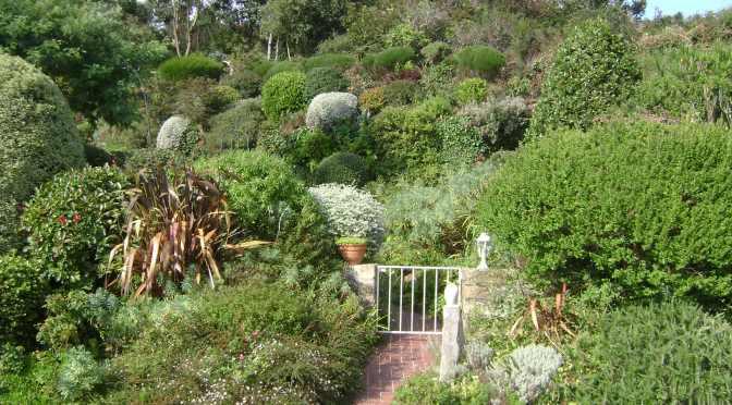 Xeriscape Oceanfront Garden in Northern Brittany
