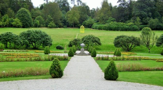 Castle of Trevarez, Chateauneuf du Faou, gardens
