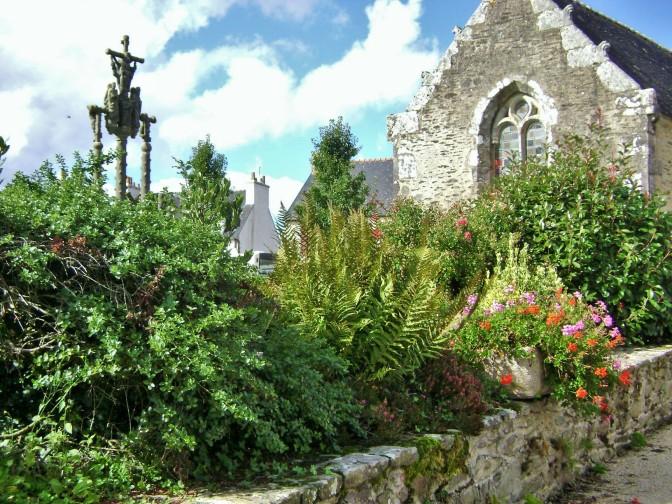 Ploher's Old Gothic Church Garden