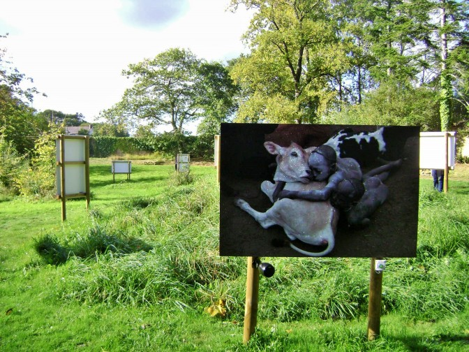 Abbaye of Daoulas in Brittany: Art in the Gardens