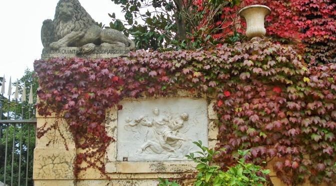 Barcelona's Horta Labyrinth Gardens: The Walled Garden