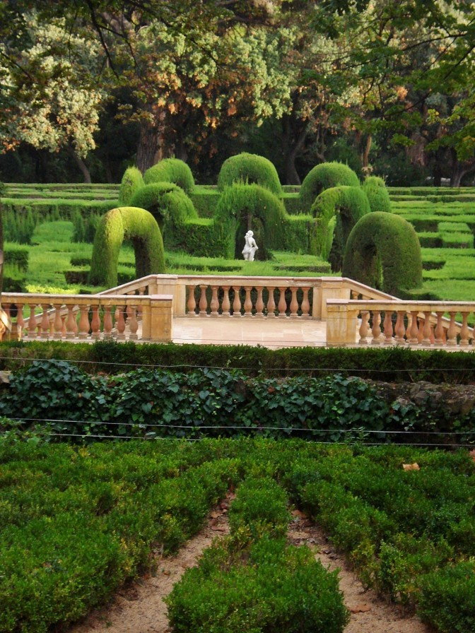Barcelona's Horta Labyrinth Gardens: The Maze and Pavilions