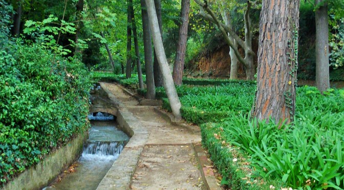 Barcelona's Horta Labyrinth Gardens: The Romantic Garden