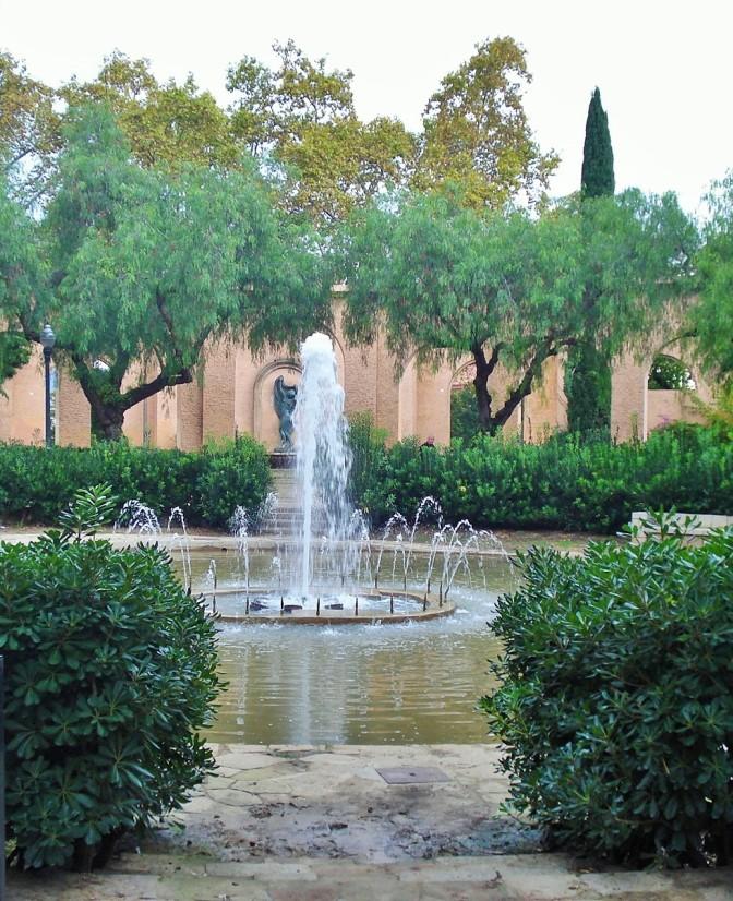 Barcelona's Archaeology Museum Garden