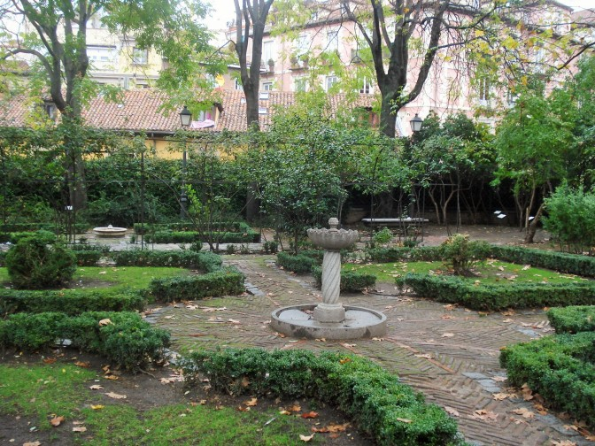 Prinicipe de Anglona: A Historic Garden in Old Madrid