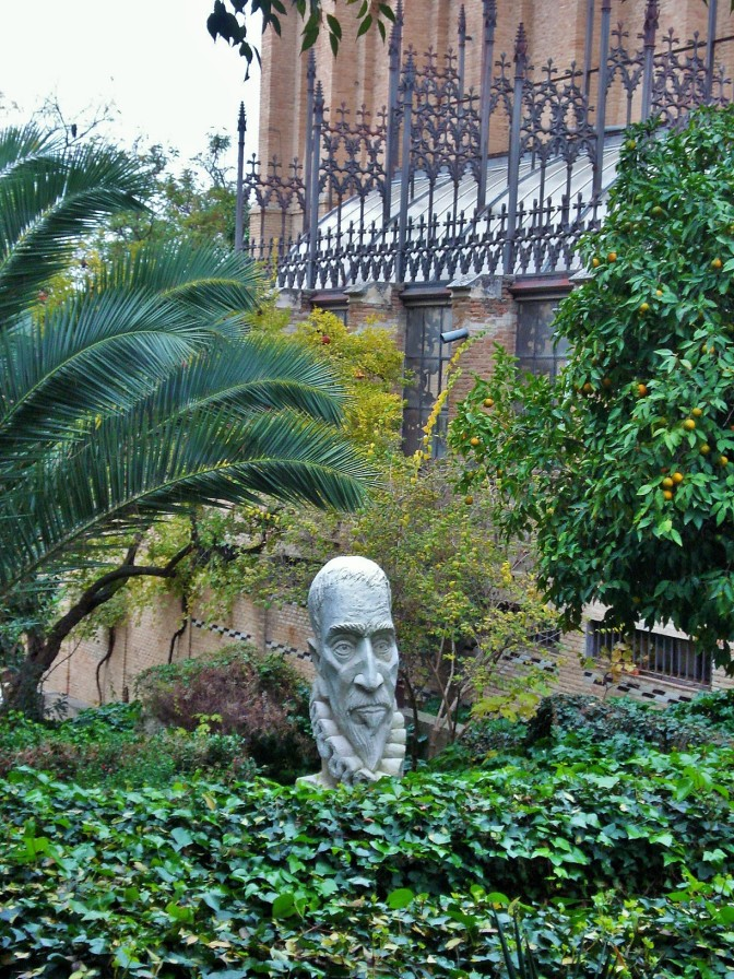 A Romantic Garden in Old Toledo at the School of Fine Arts
