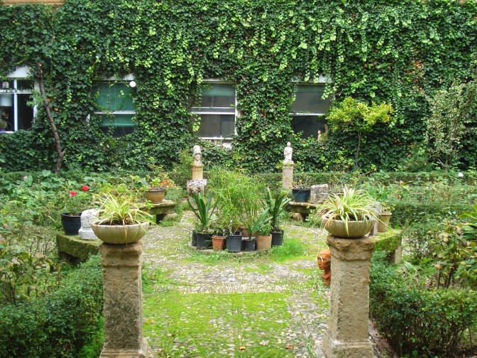 A Fanciful Garden at the School of Applied Arts in Cordoba