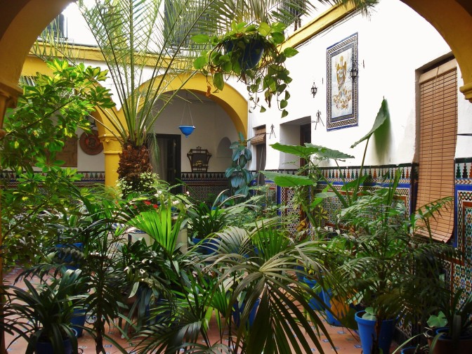 More Patios and Courtyards of Cordoba, Spain