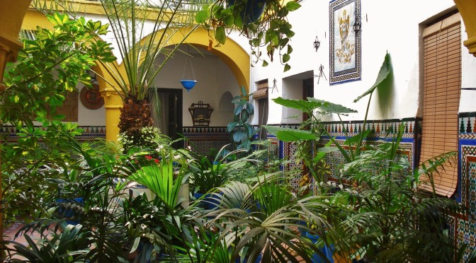Cordoba courtyards and patios, Spain, Andalusia