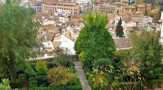 A Carmen Garden in the Albaicin in Granada