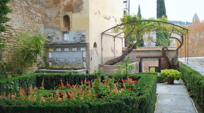 The Alcazaba Gardens: Alhambra's Fortress in Granada, Spain