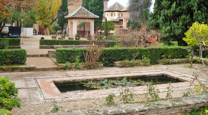 The Alhambra's Gardens in Granada: The UpperTerraces