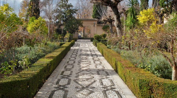 The Alhambra's Parador in Granada: The Gardens