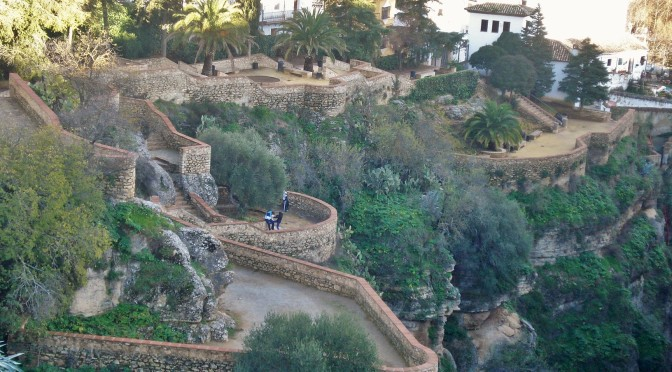 Jardines de Cuenca: A Cliffhanging Garden in Ronda, Spain