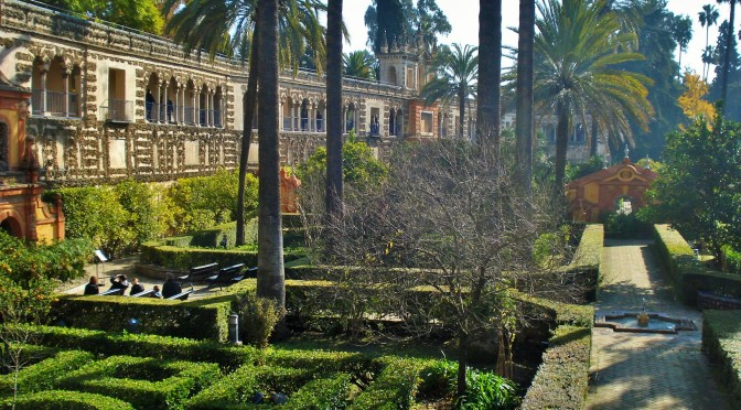 Sevilla's Alcazar: Ladies Garden and Hydraulic Organ in the Mannierist Gardens