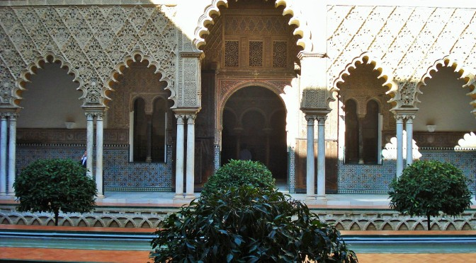 Sevilla's Alcazar: The Courtyard of the Maidens
